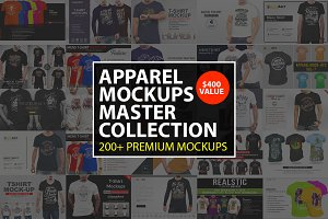 Apparel MockUps Master Collection