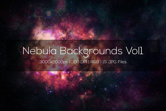 Nebula Backgrounds Vol1