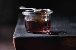 liquid sugar caramel