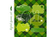 12 St. Patrick's Day Frames, clipart