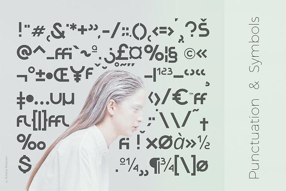 Orborn - Round Futuristic Font
