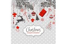 Christmas Clip Art,ornaments