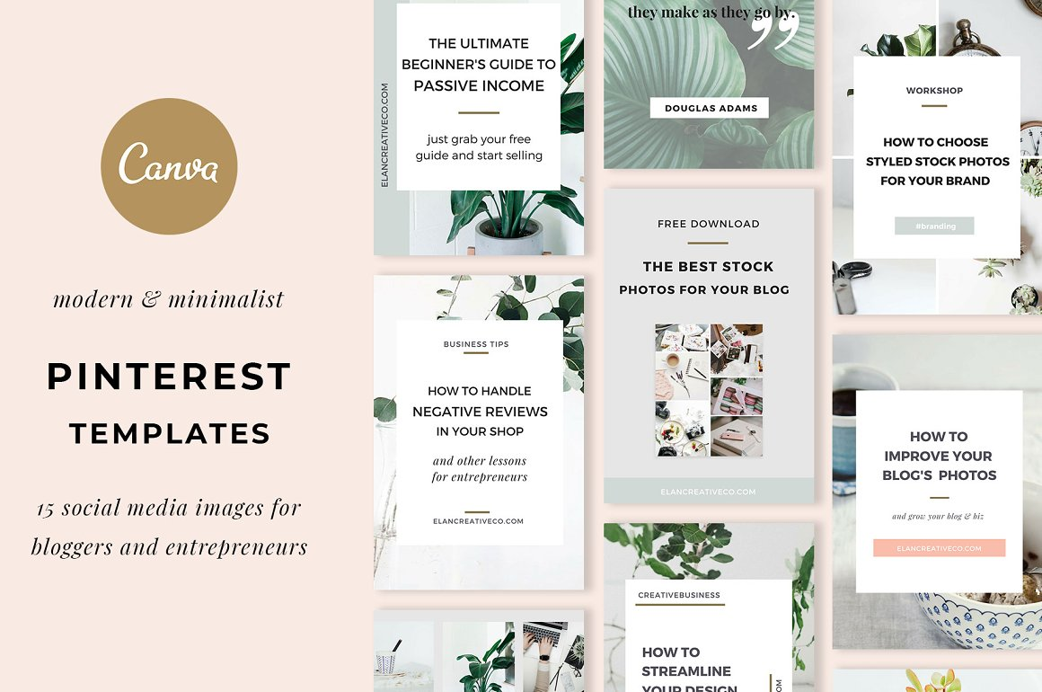 Pinterest Templates for Canva