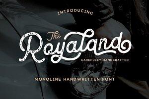 Royaland Vintage Font
