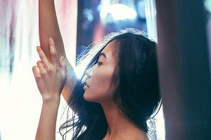 portrait Asian woman