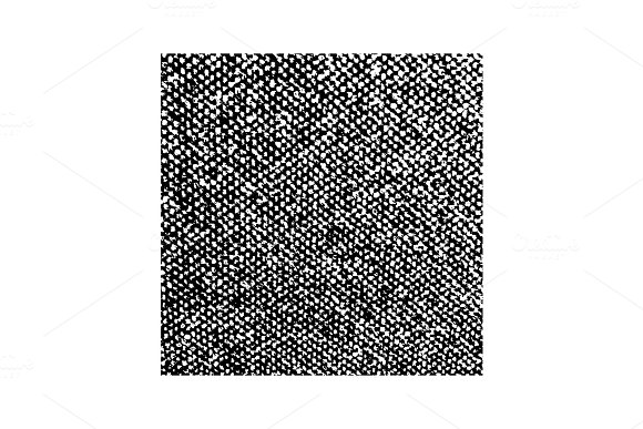 Distressed Overlay Texture Of Weaving Fabric Grunge Background Abstract Halftone Vector Illustration