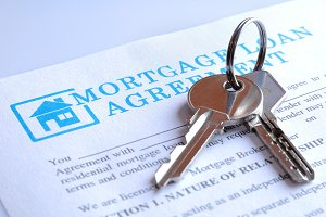 Delivery mortgage contract and keys