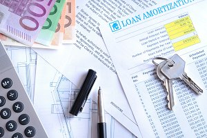 Calculation of mortgage loan top