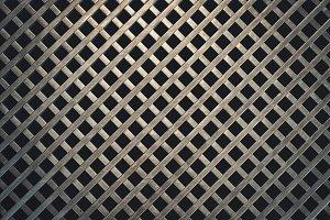 Grid Metal Texture