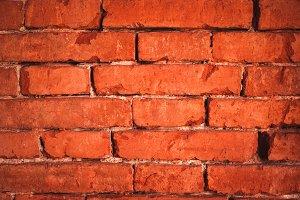 Dark Red Brick Texture