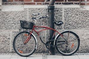 Vintage Bicycle on Street
