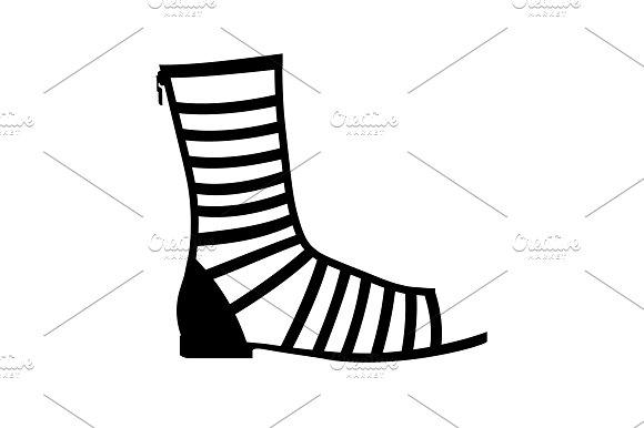 Women's Sandals Roman Sandals Icon