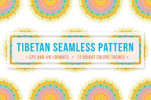 Tibetan Seamless Pattern