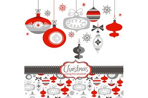Christmas Clip Art, ornaments, balls