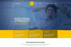 sCoolCourse Educational WP Theme