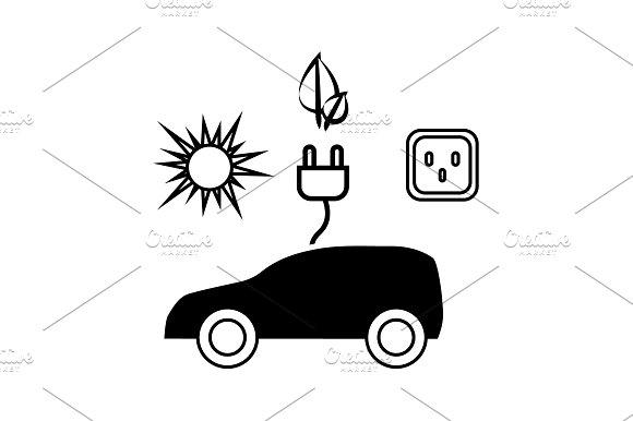 Electrocar Icon