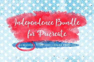 Independence Bundle for Procreate