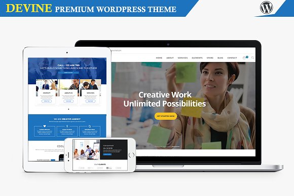 DEVINE Multipurpose Wordpress Theme
