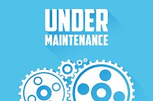 Under Maintenance Page Message