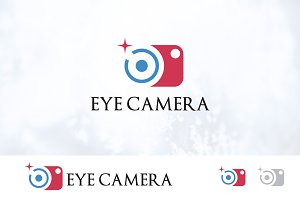 Lens Eye Camera Photography Logo