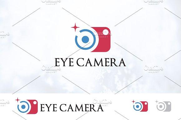 Lens Eye Camera Photography Logo
