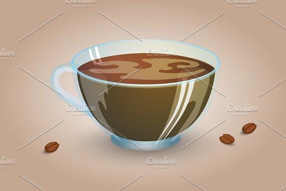 Perfect Coffee Cup Americano