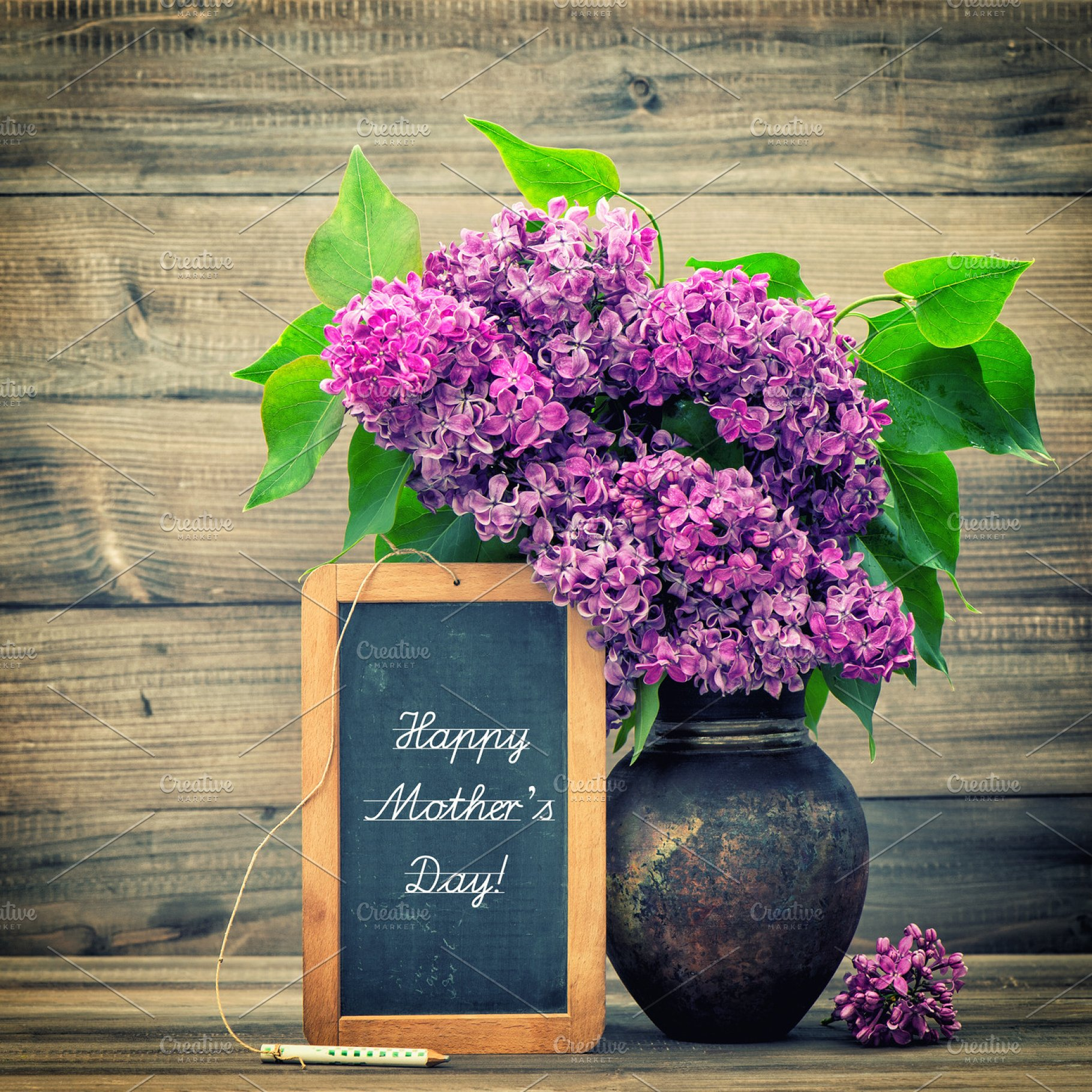 Lilac flowers. Happy Mother's Day! | High-Quality Holiday ...