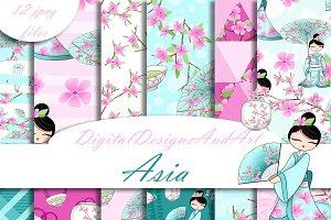 Asia patterns