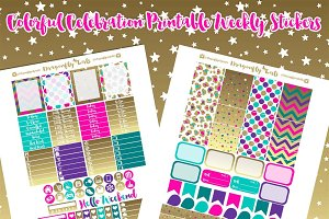 Colorful Celebration Printables