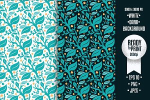 New Floral Pattern Vector