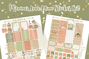 Planner Love Printable Stickers