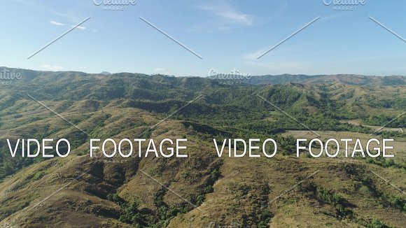 Mountain Landscape With Valley Island Of Luzon Philippines