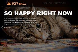Pets - WordPress Theme