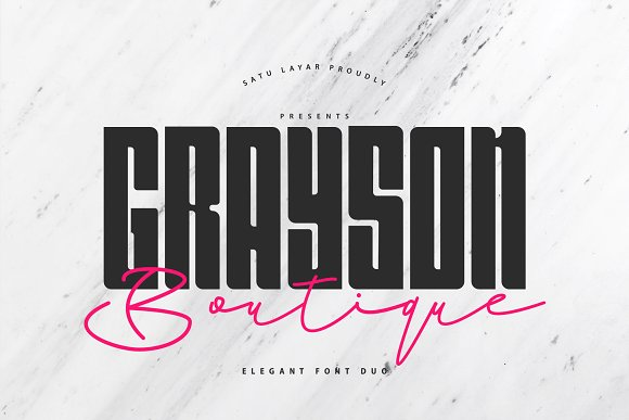 Grayson Boutique Font Duo