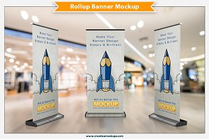 Rollup Banner Mockup