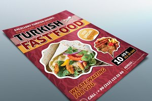 Turkish Food Flyer