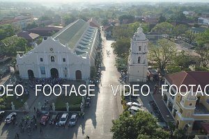 Old city Vigan in the Philippines.
