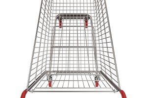 Shopping Cart Top View Cutout