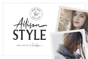 Allison Style - Font Duo