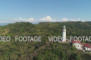Cape Bojeador Lighthouse. Philippines, Luzon.