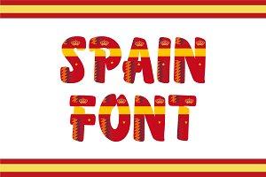 Spain Font