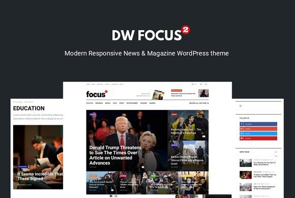 DW Focus 2 Modern Lightweight News