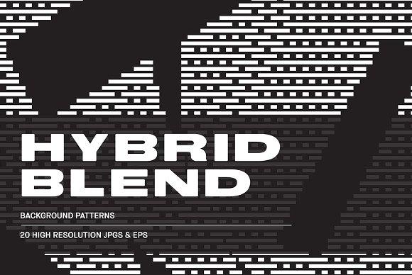 Hybrid Blend Background Patterns