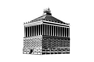 Halicarnassus Mausoleum.