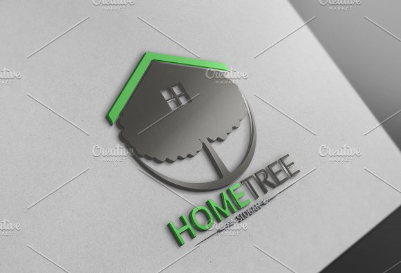 Home Tree Logo