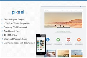 Piksel – Multipurpose HTML Template