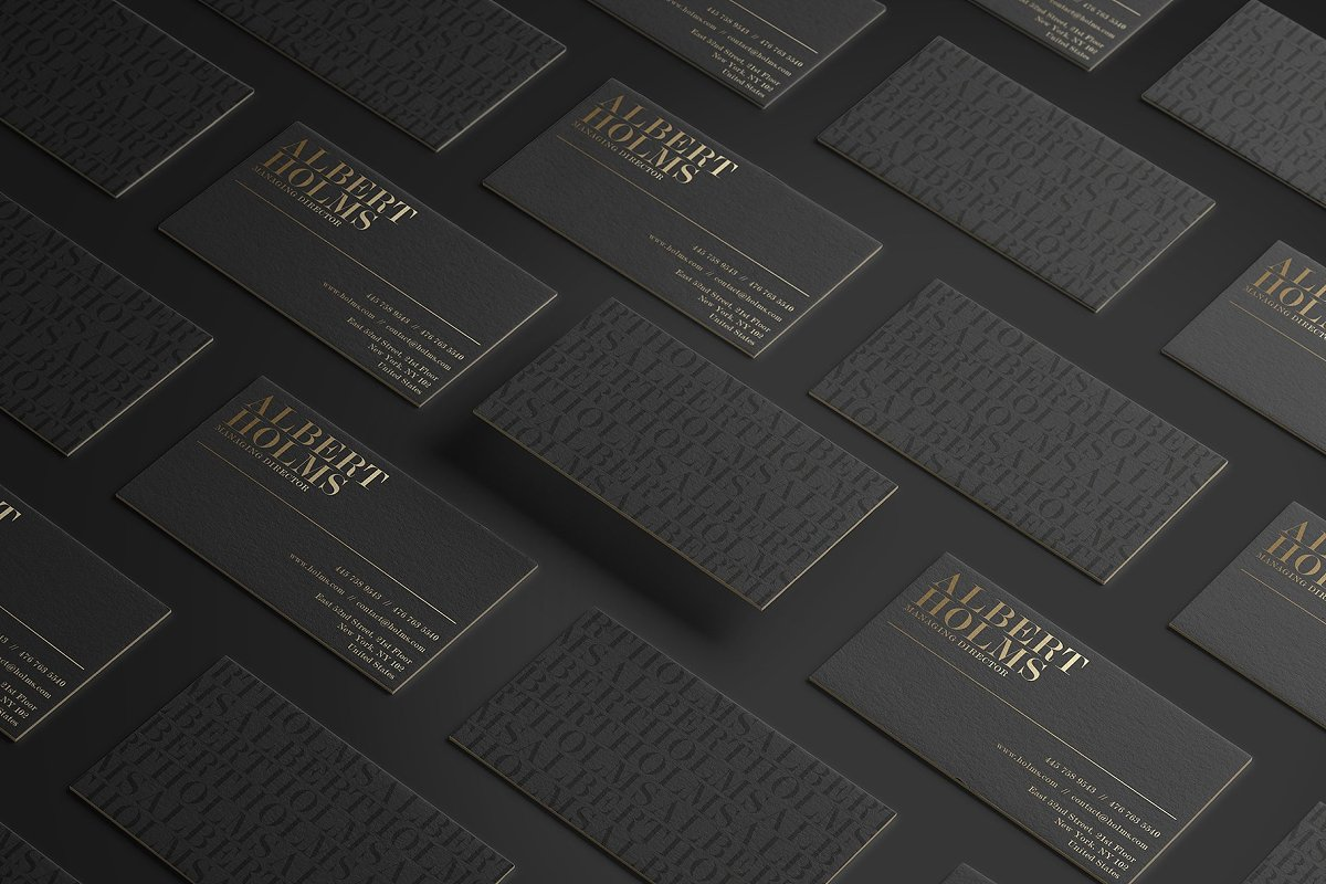 50 Golden Business Cards Bundle in Business Card Templates - product preview 38