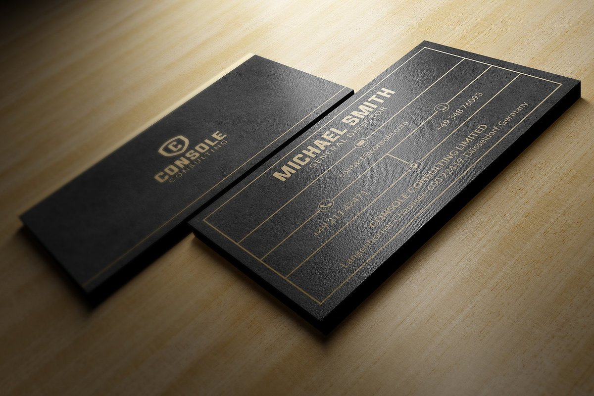 50 Golden Business Cards Bundle in Business Card Templates - product preview 36