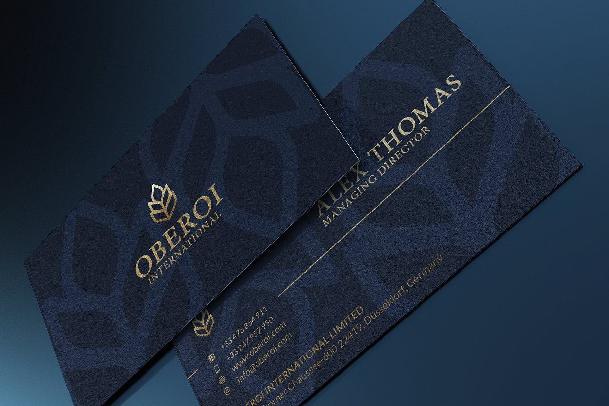 50 Golden Business Cards Bundle in Business Card Templates - product preview 30