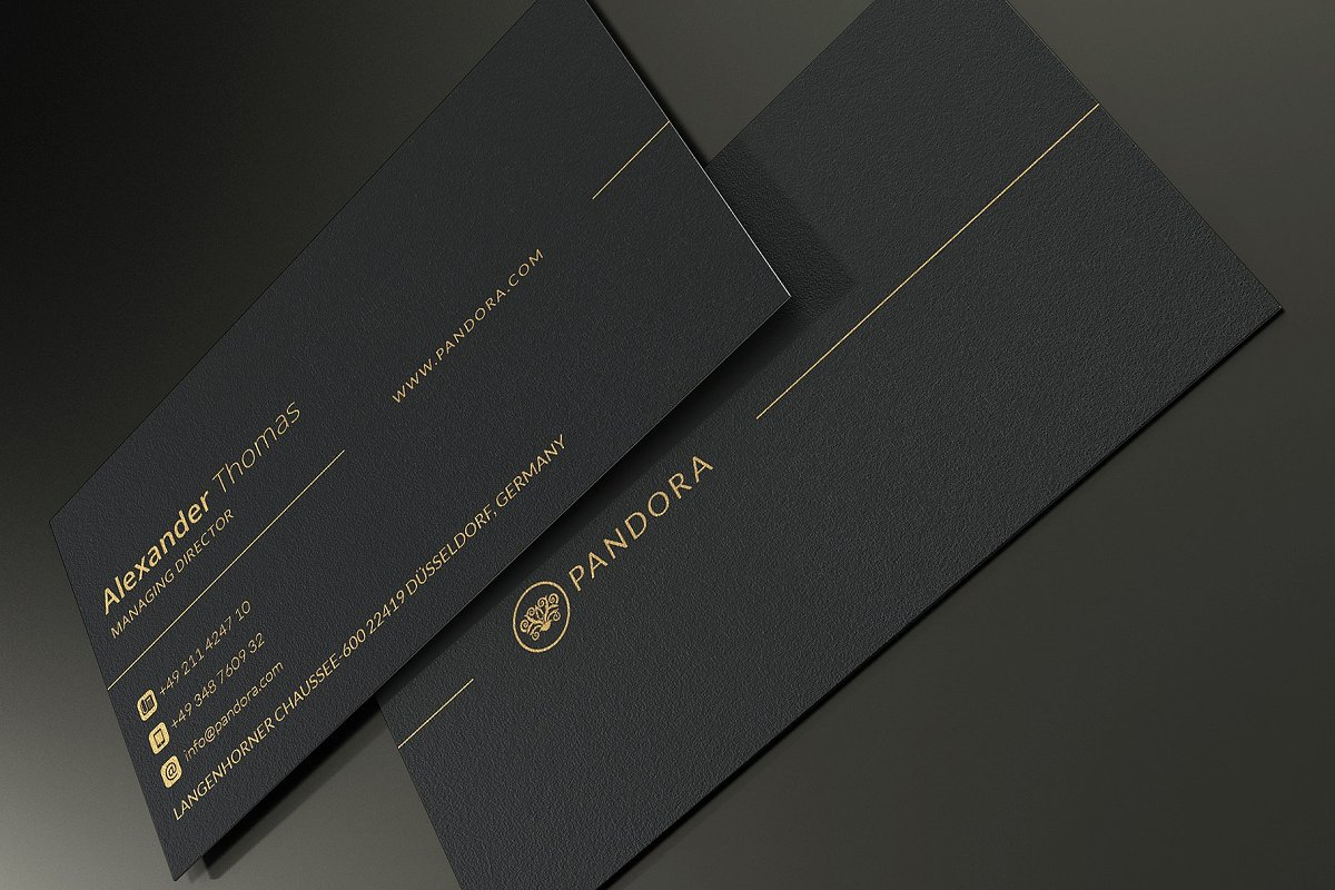 50 Golden Business Cards Bundle in Business Card Templates - product preview 25